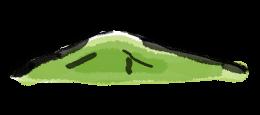 畝傍山の絵